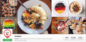 Chobani shares wonderful creations